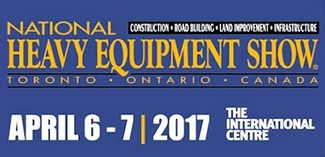 Come and visit us at National Heavy Equipment Show 2017