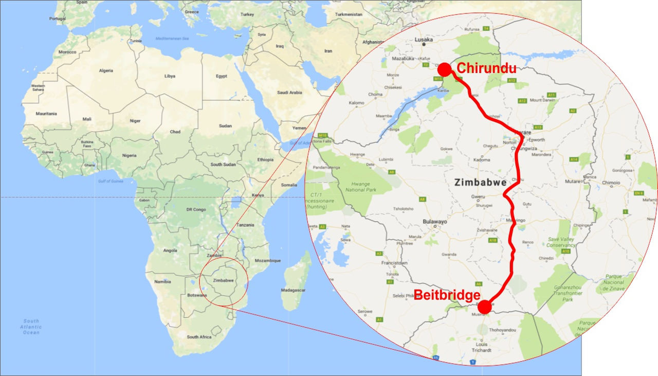 Zimbabwe has agreed to a $2.7bn deal with companies from Austria and China to upgrade the country's busiest road linking SA with countries to the north.