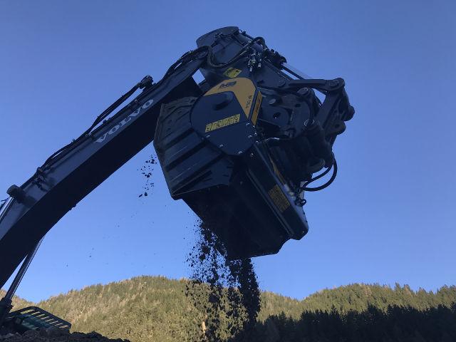 Crushing at high altitudes