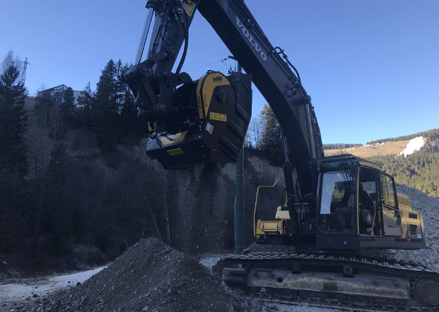 MB Crusher launches the fourth series of its BF120.4 crusher bucket