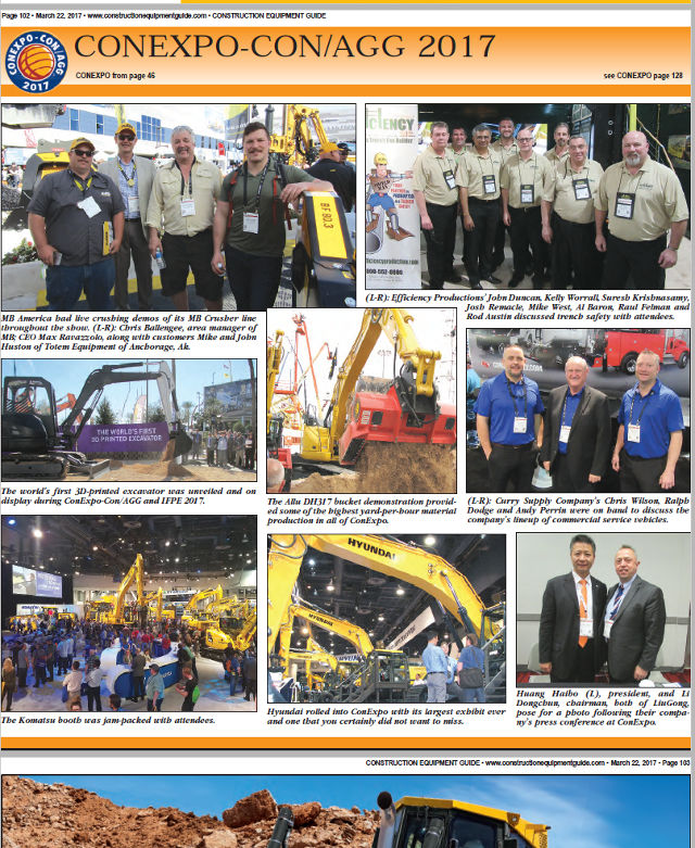 MB America Team at Conexpo