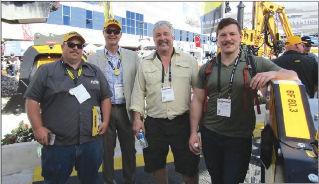 Our great MB America Staff at Conexpo 2017!
