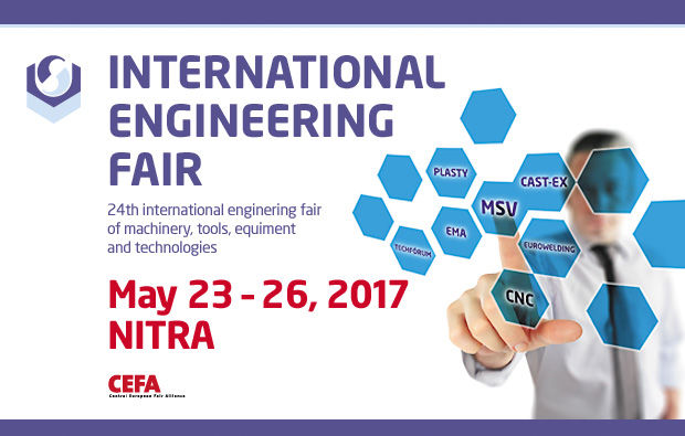 MB Crusher will attend the 24th INTERNATIONAL ENGINNERING FAIR - in Nitra, Slovakia