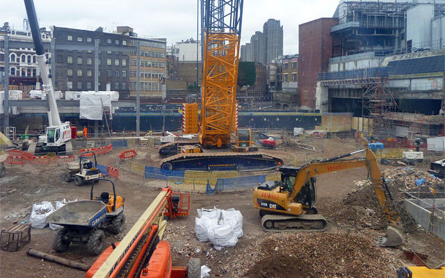 Can MB Crusher be a solution for the Crossrail project in London?