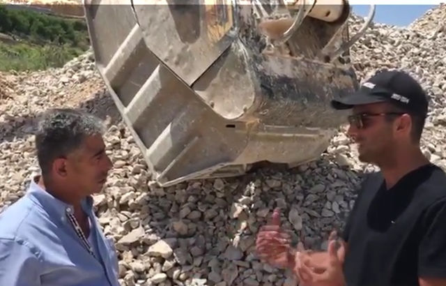 Crushing limestone in Lebanon: video-interview with our customer in Kfardebyan area