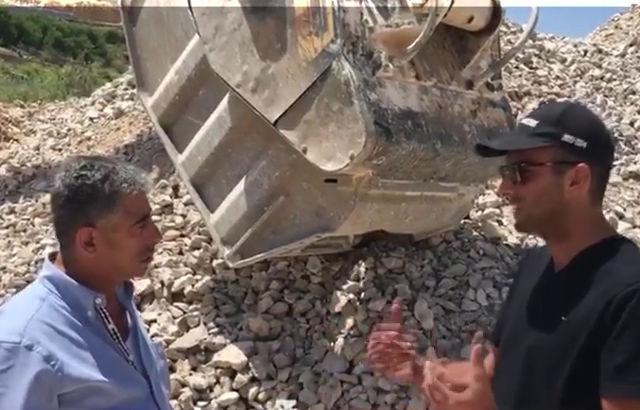 Crushing limestone in Lebanon: video-interview with our customer in Kfardebyan area