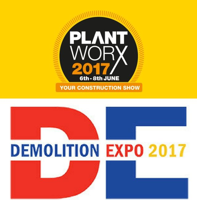 MB Crusher @ PLANTWORX & DEMOLITION EXPO in the UK, June 2017