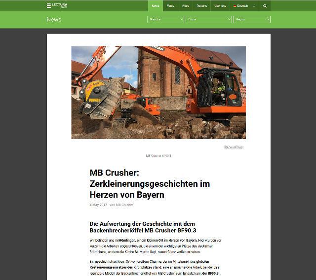 MB Crusher: Zerkleinerungsgeschichten im Herzen von Bayern