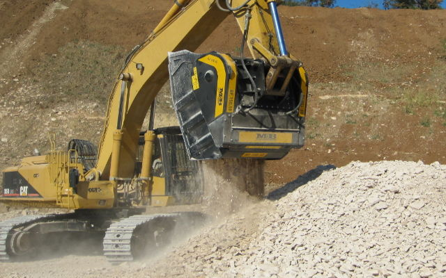News - MB Crusher continues emphasizing benefits of crusher buckets in mines