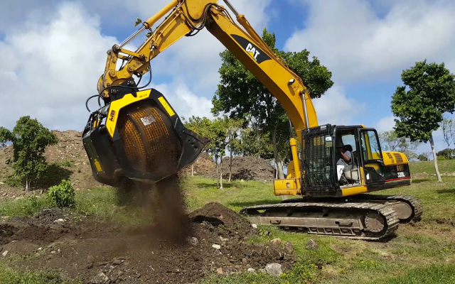 MB Crusher safeguards the natural heritage of Nevis