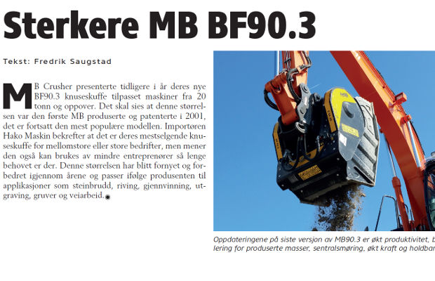 Sterkere MB BF90.3
