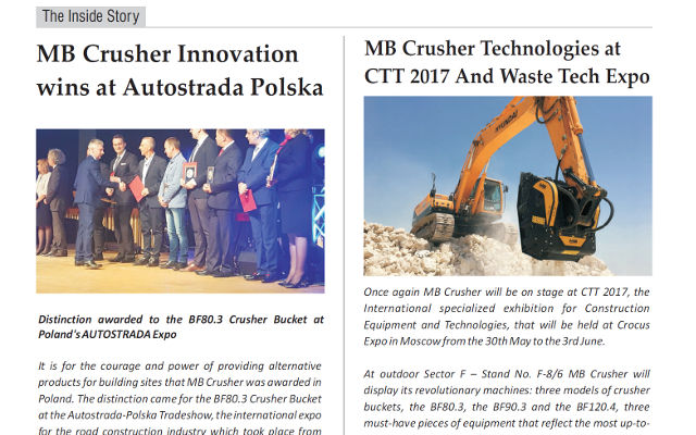 MB Crusher, a continuous success all over the Europe