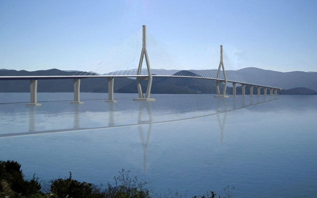 A bridge to Croatia