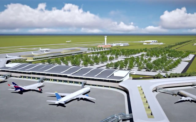 MB Crusher para el nuevo aeropuerto de Viru Viru