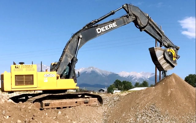 MB Crusher Game Changer for Colorado Excavating Company Passing Gradation, Saving 35 Percent