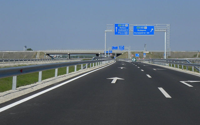 New Hungary motorway project