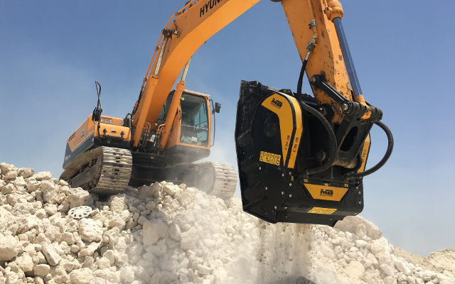 MB Crusher will display its innovations in Moscow, Russia