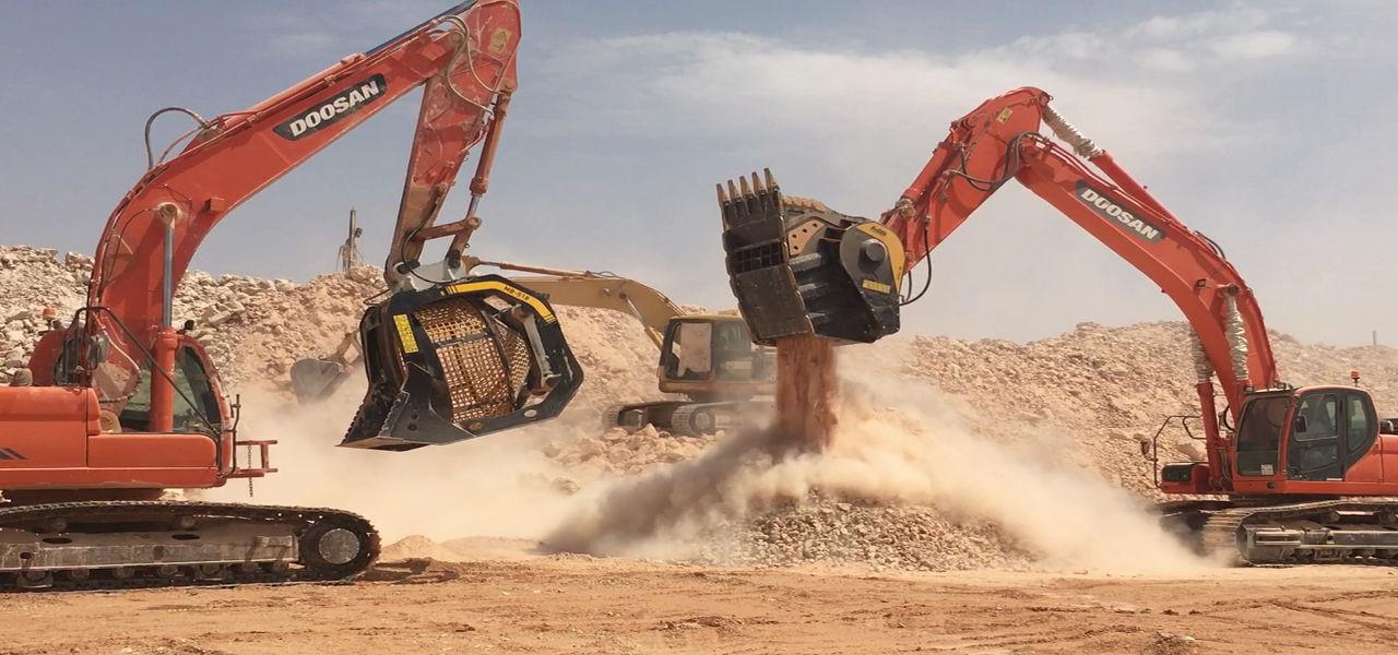 La soluzione brevettata MB Crusher potenzia la produttività in cava e ottimizza gli scarti.