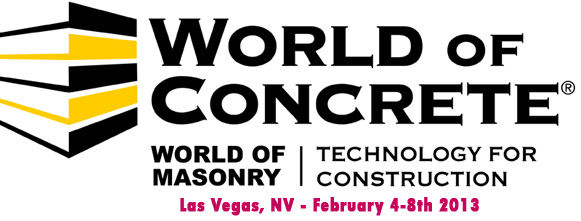 MB @ WORLD OF CONCRETE 2013 - Las Vegas
