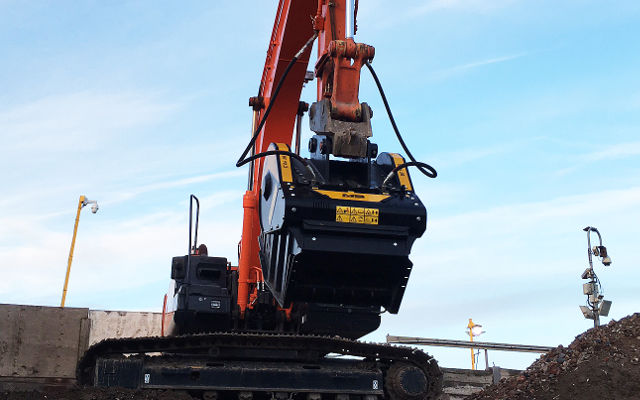 The crushing action is very good and produces a uniform size, which is ideal for our needs