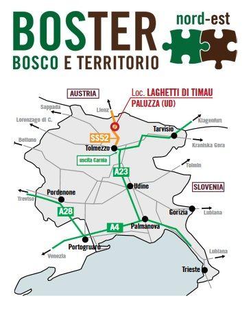 Manutenzione boschi e territorio montano? Dal 15 al 17 settembre visita BOSTER nord est - Udine!