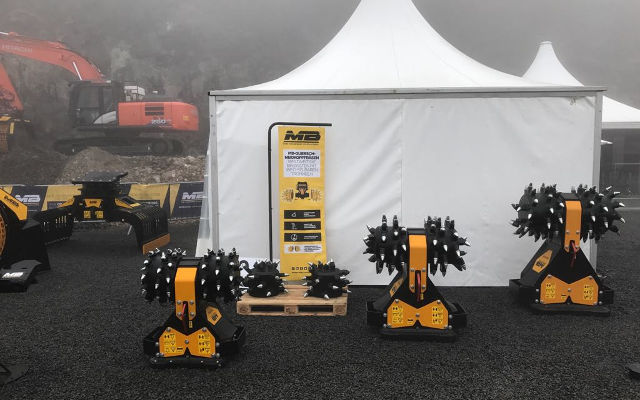 MB Crusher: Backenbrecher-Superlative auf der Steinexpo