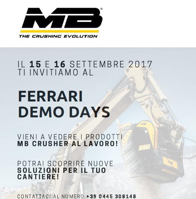 Demo days MB Crusher in Svizzera