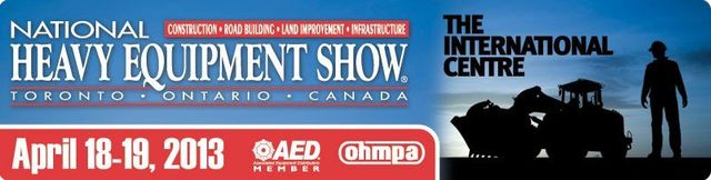 MB @ NATIONAL HEAVY EQUIPMENT SHOW (Toronto)