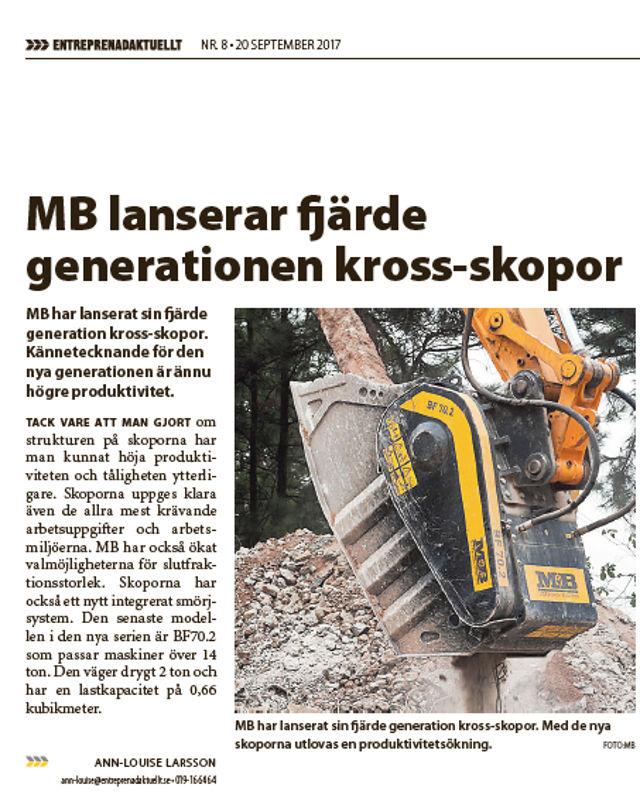 MB lanserar fjärde generationen kross-skopor