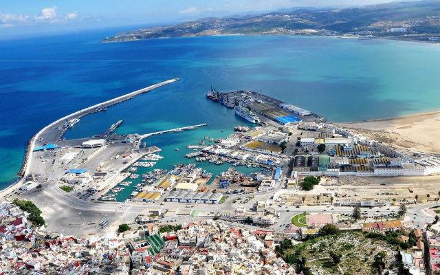 El Hamdania new port in Algeria