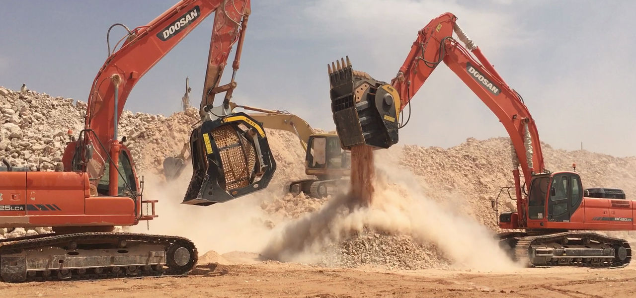 MB Crusher's products are being used by operators across the region, helping them save time and costs in their mining and demolition operations