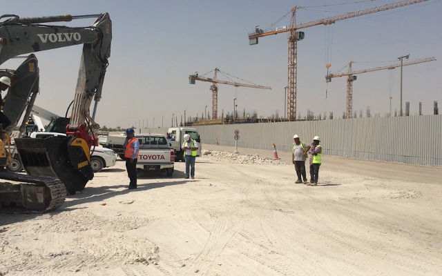 "News - Back to school: MB Crusher for ""Oryx International School"" in Qatar"