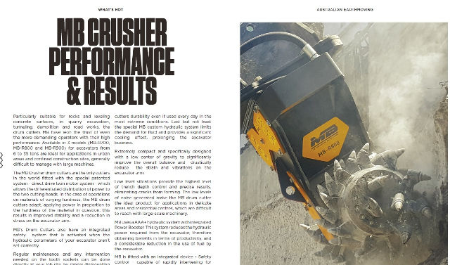 MB Crusher performance & results