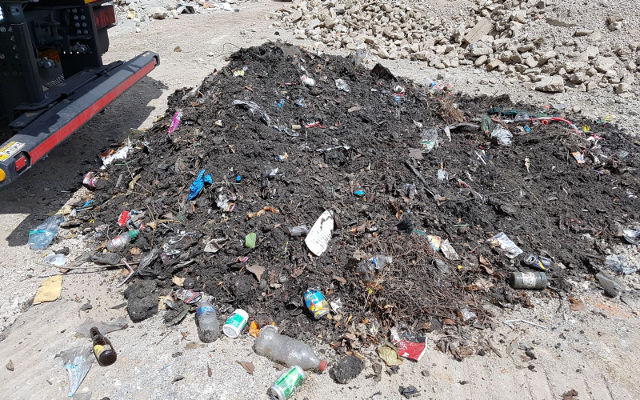 Progetto città pulite con MB Crusher