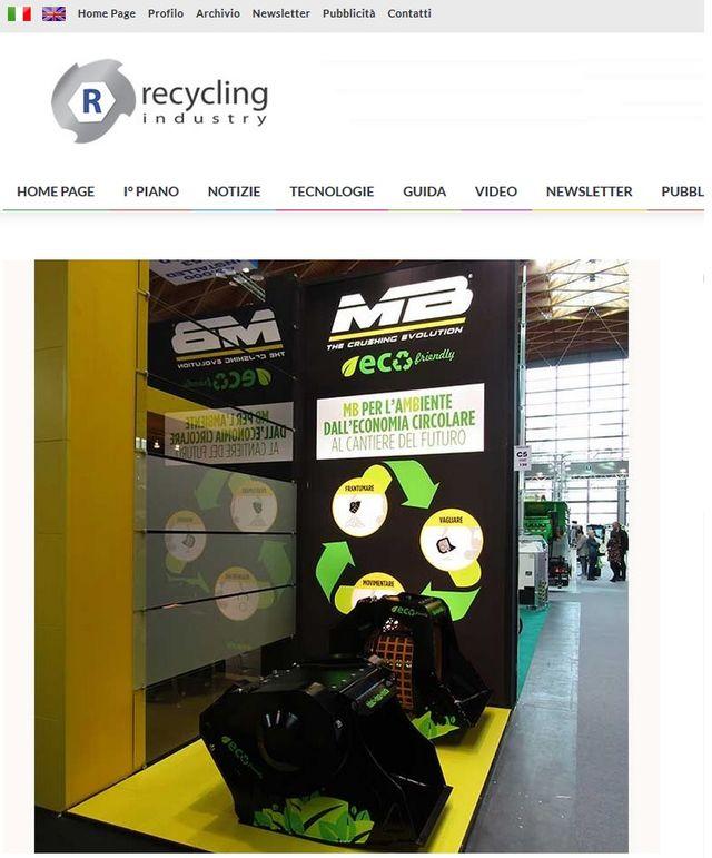 Le tecnologie per l'Ambiente MB