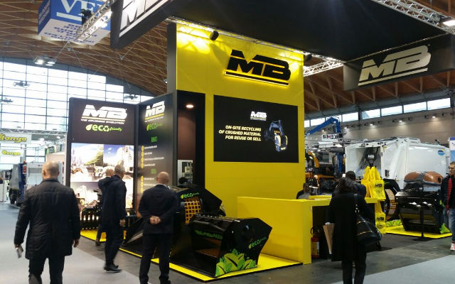 MB Crusher is looking forward to see you at ECOMONDO 2018