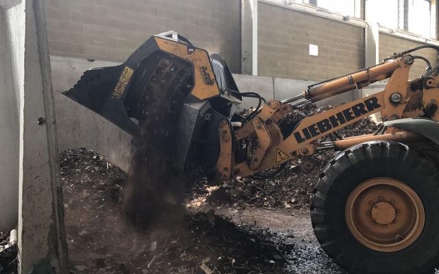 News - Una vagliante MB-LS170 per il riciclo e recupero degli scarti ferrosi