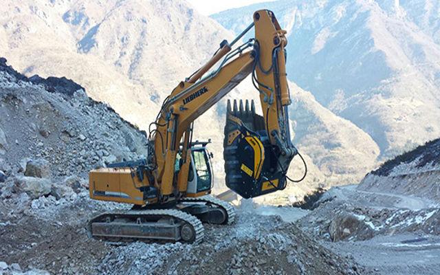 Запатентованное оборудование MB Crusher повышает производительность в карьерах и оптимизирует отходы.