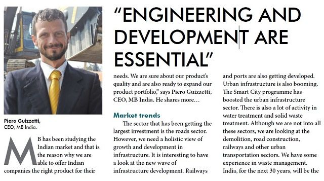 """""""Engineering and development are essential"""""""