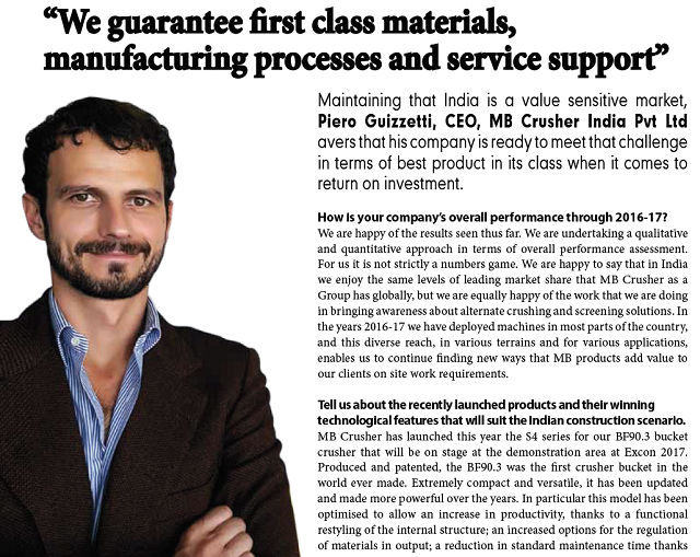 """""""We guarantee first class materials, manufacturing processes and service support"""""""