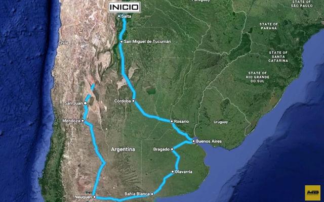 ÚLTIMAS NOTICIAS - Un viaje en Argentina con los productos MB Crusher