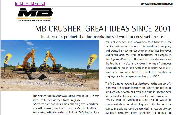MB CRUSHER, GREAT IDEAS SINCE 2001