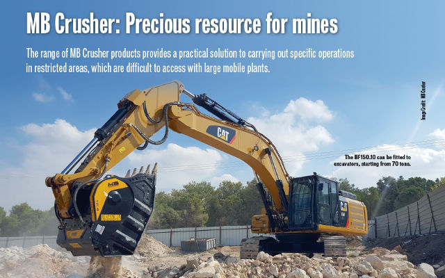MB Crusher: Precious resource for mines