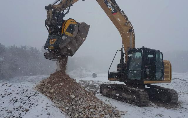 News - Même sous la neige ça concasse en Lorraine!
