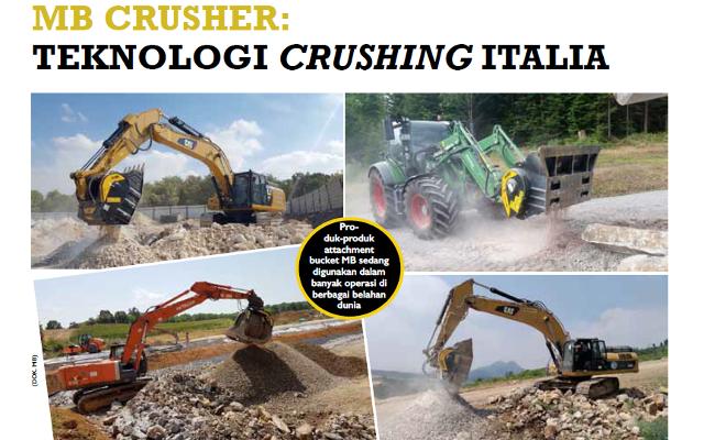 MB CRUSHER: TEKNOLOGI CRUSHING ITALIA