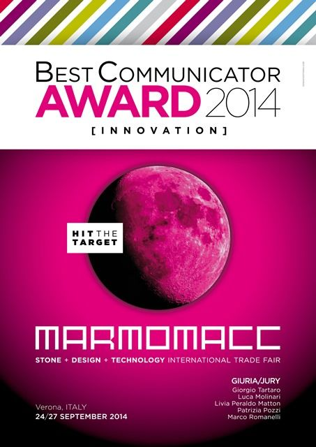 News - MB ganha o BEST COMMUNICATION AWARD na Marmomacc 2014