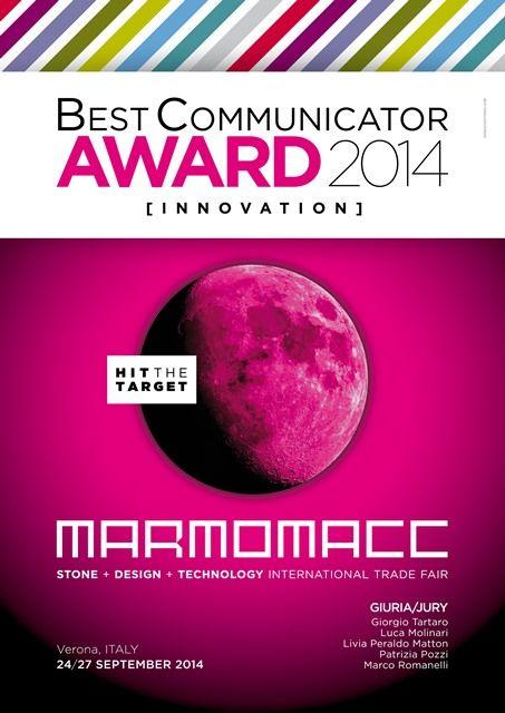 News - MB ganha o BEST COMMUNICATION AWARD na Marmomacc 2014