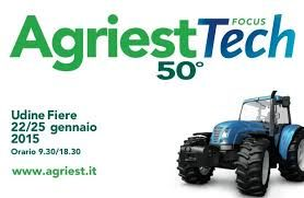 MB will be present at AGRIEST -  Udine 22-25 January 2015