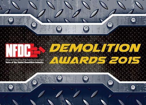 MB shortlisted for the Demolition Awards 2015