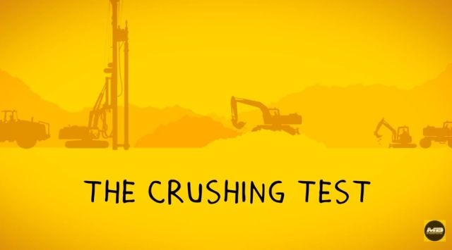 THE CRUSHING TEST!